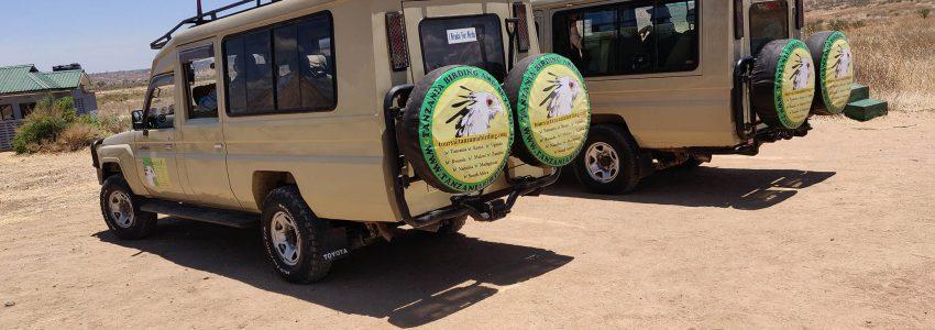 Birding tour vehicles